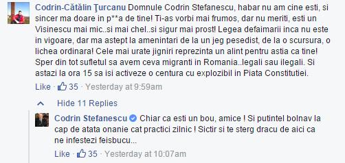 Codrin Stefanescu e un bou