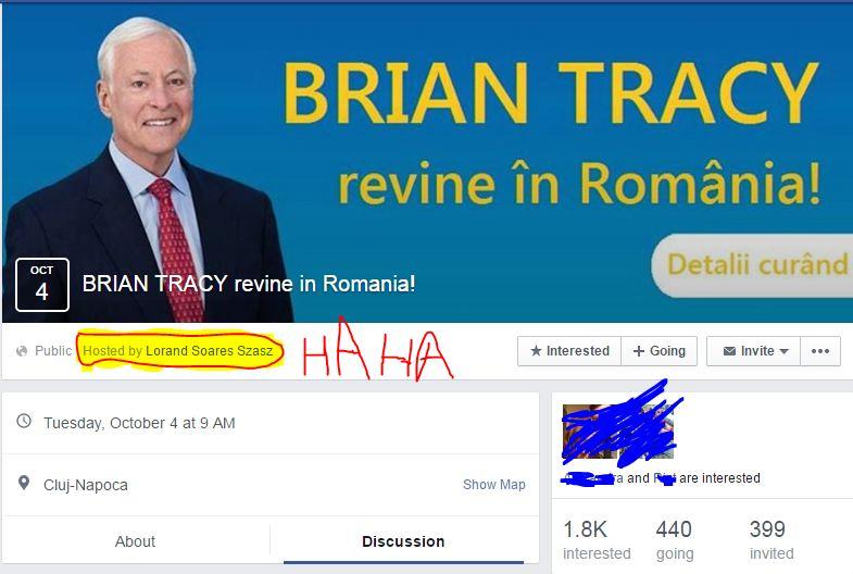 Brian Tracy la Cluj-Napoca!