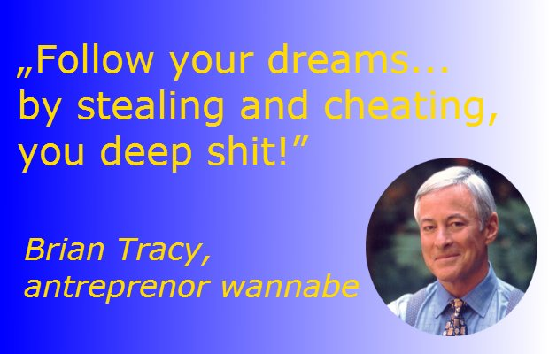 Brian Tracy ne sfătuiește să ne urmăm visurile
