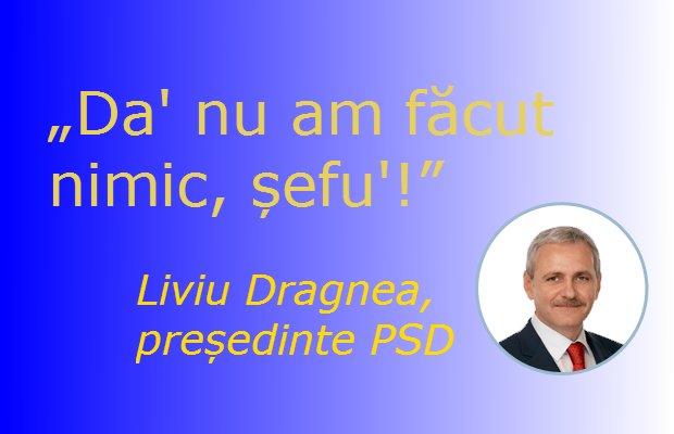 Liviu Dragnea nu a făcut nimic rău